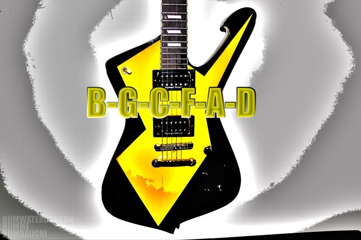 d-g-c-f-a-d hiimwaterdragon iceman guitar - jamey blaze