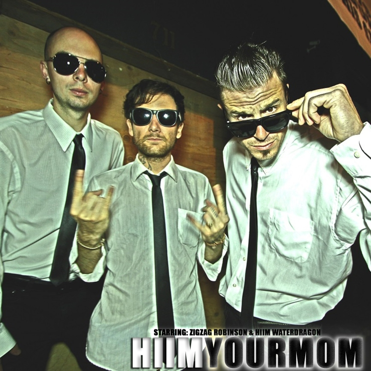 HIIMYOURMOM album cover2