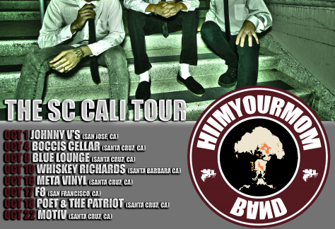 HIIMYOURMOM the sc cali tour pj