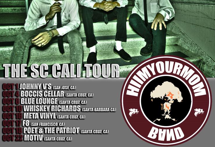 HIIMYOURMOM the sc cali tour pj