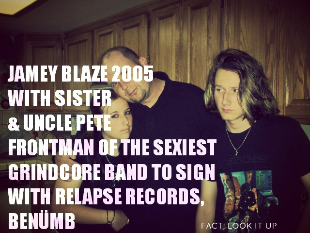 jamey blaze memes uncle pete vocalist benumb relapse records
