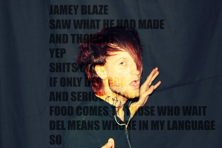 jamey blaze saw what he had made