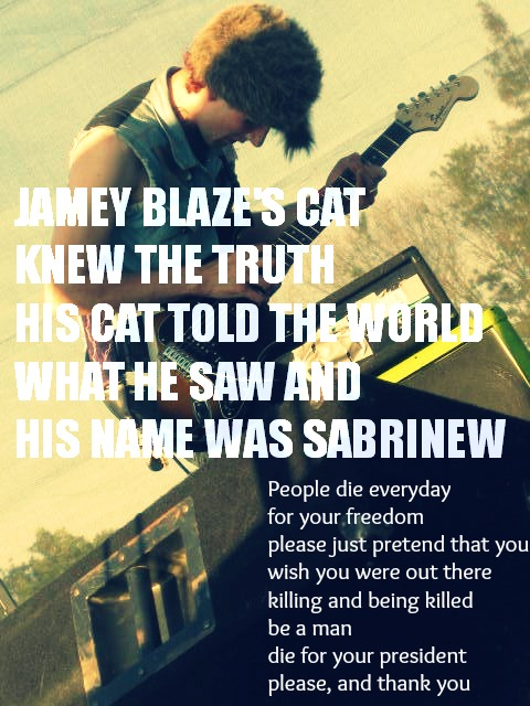 jamey blaze's cat