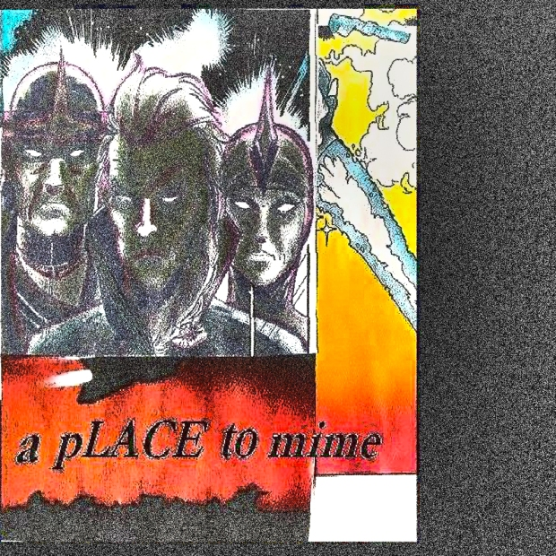 a place to mime - comic strip first one (2007) jamey blaze
