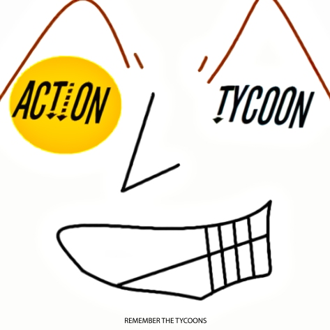 action tycoon - remember the tycoons (album cover band mickie ortiz marcus russel russell nathan nathaniel furtado bass mike welch drums michael jamey blaze james guitar iceman kazem wnfa antioch ca epidemic