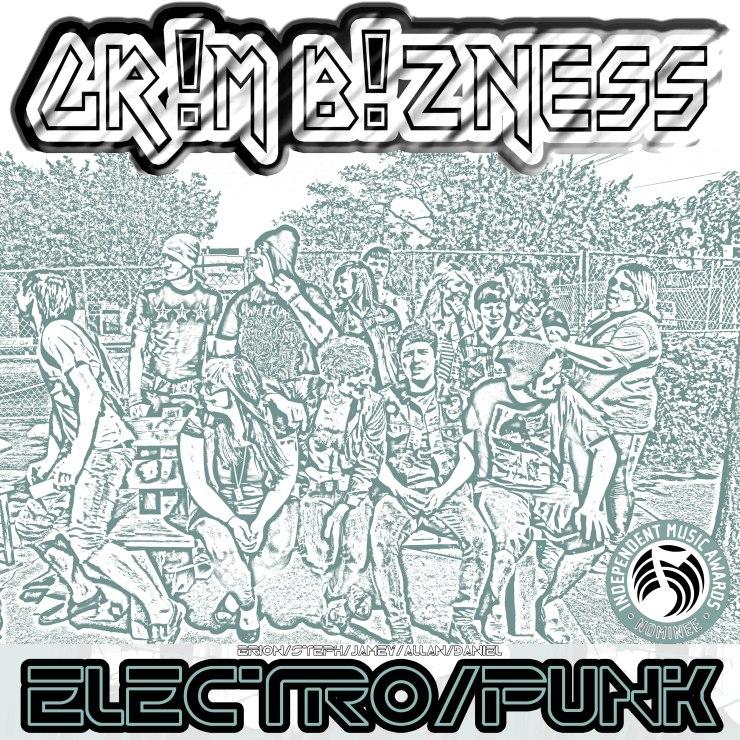 grim bizness - Electro-Punk (2012) grim bzns GR!M B!ZNESS jamey blaze brion lund brion bot dean screamo steph blaze stae allan valadez daniel martin