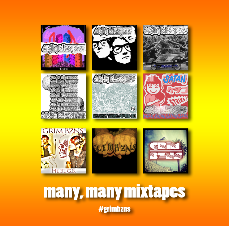 grim bzns jamey blaze act10n tyc00n many mixtapes
