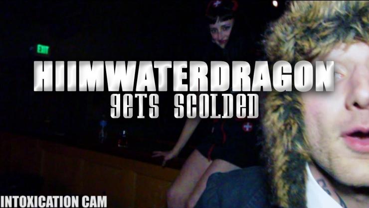 hiimwaterdragon gets scolded
