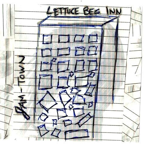 jam town lettuce beg inn