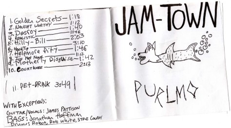 jam-town purlmo (jamey blaze 2004 album cover track list jonathan hoffman art antioch high school california musician guitar music james pattison marshall