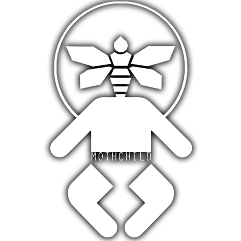 mothchild logo white moth child band holly volly jamey blaze mrs rage mrs. rage