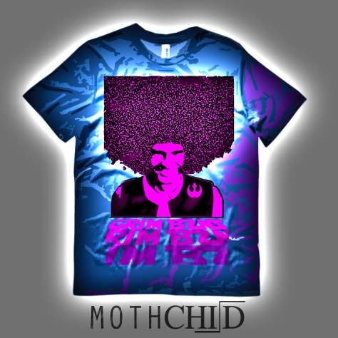 mothchild moth child blue grim bzns shirt album cover single band bay area electropunk musical genre