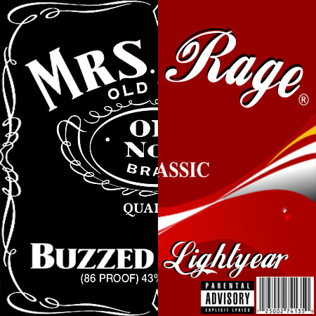 mrs rage - buzzed lightyear (2012)