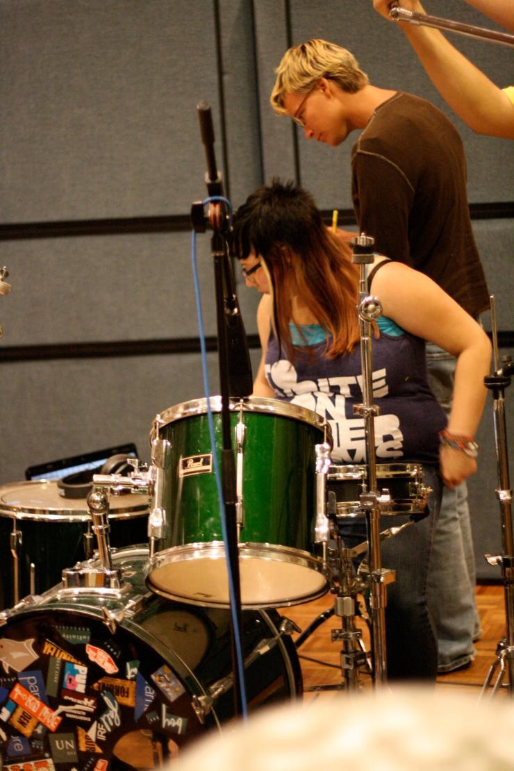 steph blaze stae blaze zebra mountain drummer drums