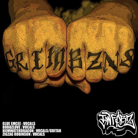 the world famous pool boyz - grim bzns ep (2012) zigzag robinson glue emcee bubbzlove hiimwaterdragon