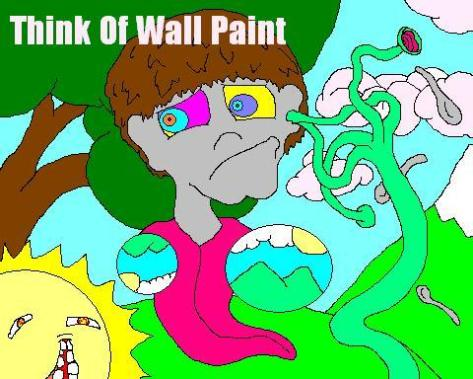 think of wall paint live band guitar screamer bass nathan furtado jacob broughton art jake jamey blaze vocals james jean music artist underground california hardcore experimental garage