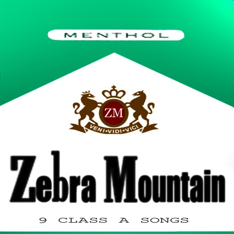 zebra mountain - menthol (album) jacob broughton