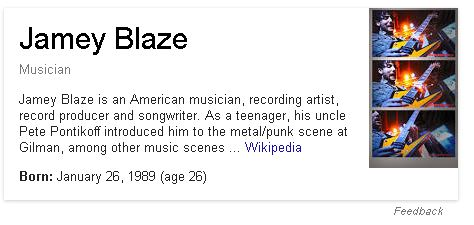 jamey blaze jamey jean blaze musician wikipedia united states of america usa north america north american musicians drummer drums guitar singer rapper screamer bass player songwriter producer engineer 2010 2011 2012 2013 2014 2015