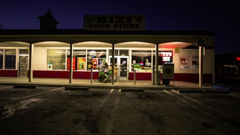 vantana row drums jamey blaze outside bizi food store video shoot