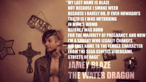 jamey blaze my last name is blaze not because i smoke weed