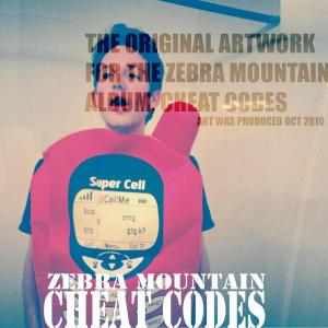 jamey blaze original album artwork for zebra mountain cheat codes produced october 2010