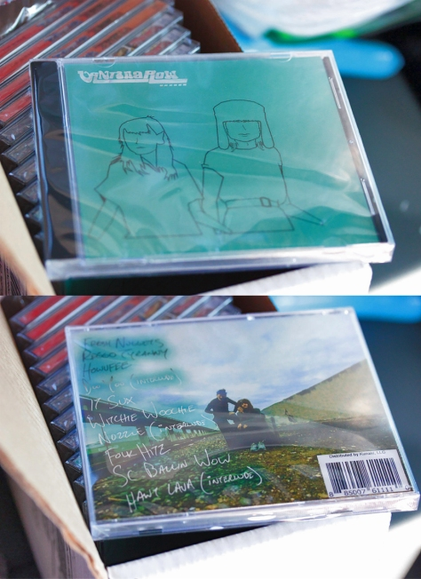 merch cd vantana row disc jewel case album