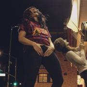 Vantana Row drums female vocals synth punk 2017 2018 2019 vantana row mel-grindcore duo berkeley california death wish inc hardcore opening act deafheaven