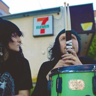 vantana row mel-grindcore duo 711 california death wish inc hardcore opening act deafheaven los angeles contract distribution 2019