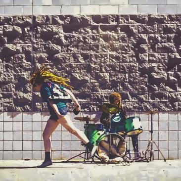 vantana row mel-grindcore duo oakley california death wish inc hardcore opening act deafheaven los angeles contract distribution 2019
