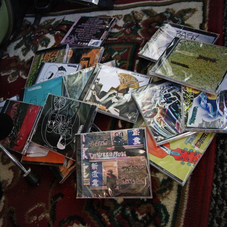 vantana row cd discography albums grindcore crustwave music bay area 2018 2019 volly blaze jamey blaze vand band drive by shows