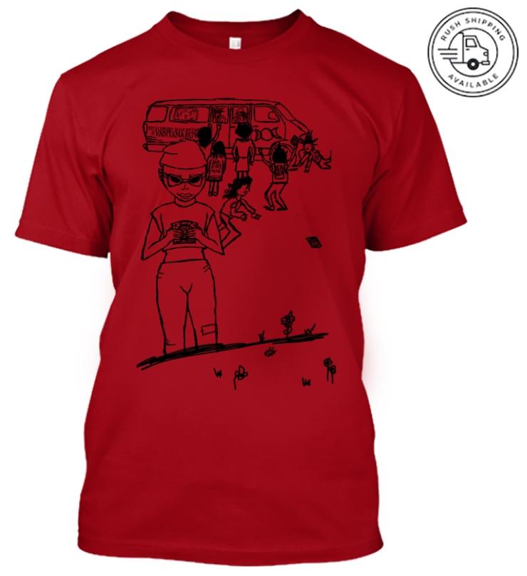 kids these days code red vantana row shirt merch yeah rogan train
